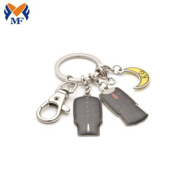 定制印刷滴胶金属钥匙扣